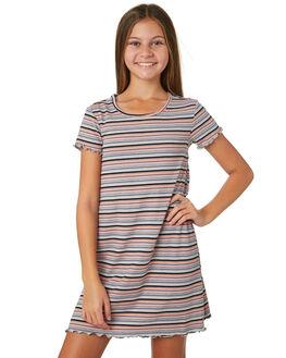 MULTI STRIPE KIDS GIRLS EVES SISTER DRESSES + PLAYSUITS - 9520029STR