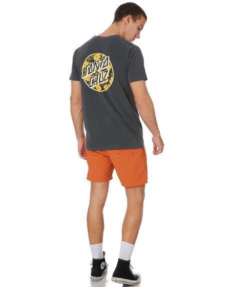 PIGMENT BLACK MENS CLOTHING SANTA CRUZ TEES - SC-MTD9349PIGBLK