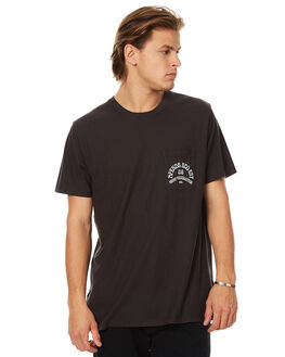 FADED BLACK MENS CLOTHING AFENDS TEES - 01-10-016FBLK