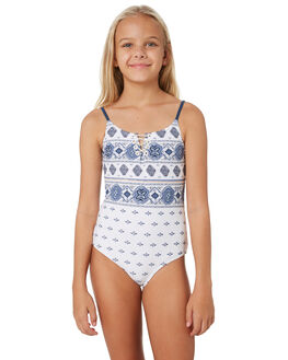 WHITE KIDS GIRLS RIP CURL SWIMWEAR - JSIDT11000