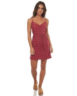 PLUM WOMENS CLOTHING ELEMENT DRESSES - 274861PLUM