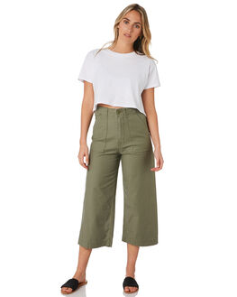 ARMY COMBO WOMENS CLOTHING VOLCOM PANTS - B1112000ARC