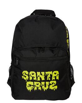 BLACK KIDS BOYS SANTA CRUZ BAGS + BACKPACKS - SC-YAA9218BLK