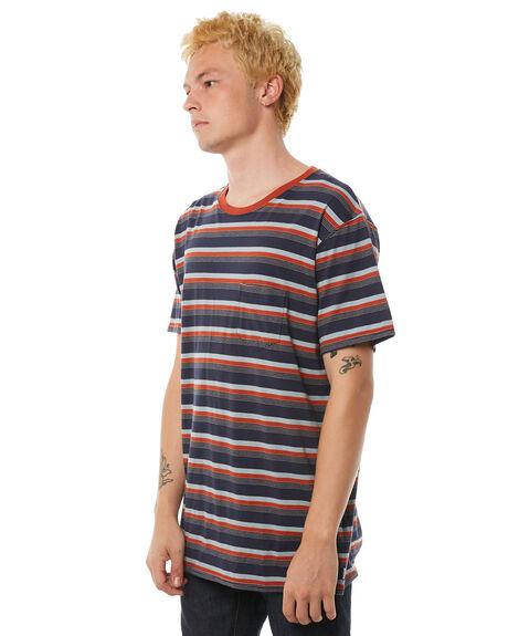 DIRTY DENIM MENS CLOTHING BANKS TEES - WTS0219DDN