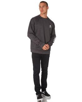 TRUE BLACK HEATHER MENS CLOTHING BURTON JUMPERS - 17353104001TRBKH