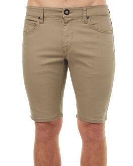 BIEGE MENS CLOTHING VOLCOM SHORTS - A09316G3BGE