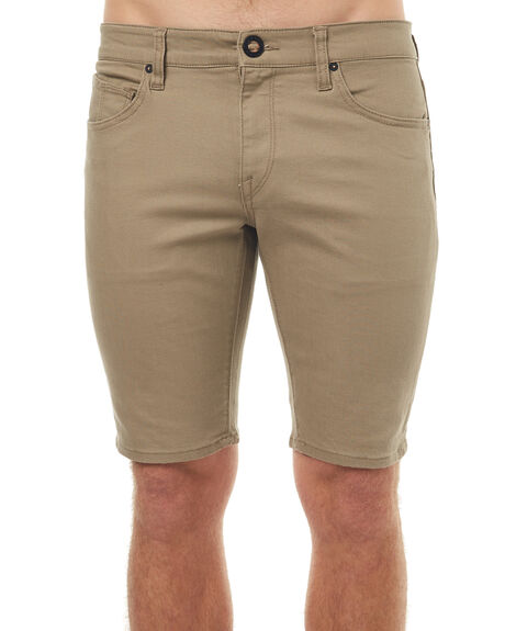 BIEGE MENS CLOTHING VOLCOM SHORTS - A09316G3BGE