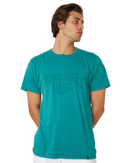 DEEP JUNGLE MENS CLOTHING HUF TEES - TS00568-DPJNG