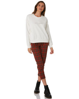 DIRTY WHITE WOMENS CLOTHING THRILLS JUMPERS - WTW9-215ADWHT