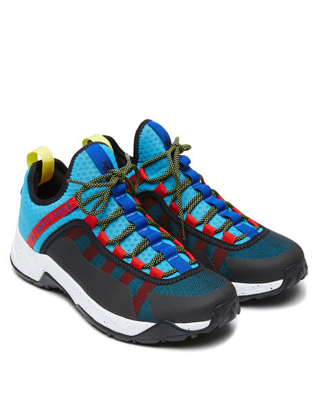 MERIDIAN BLUE MENS FOOTWEAR THE NORTH FACE SNEAKERS - NF0A3V1JE2Z