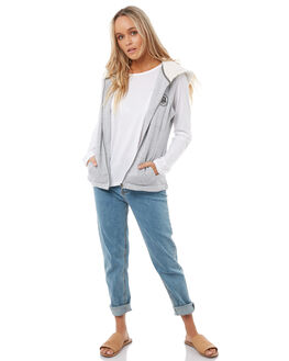 HERITAGE HEATHER WOMENS CLOTHING ROXY JACKETS - ERJFT03686SGRH