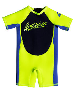 SAFETY YELLOW BLUE BOARDSPORTS SURF QUIKSILVER TODDLER BOYS - EQTW503002XYBB