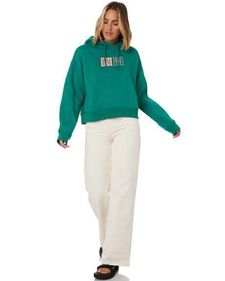 GREEN WOMENS CLOTHING RPM JUMPERS - 20AW10AGRN