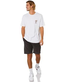 WHITE MENS CLOTHING BARNEY COOLS TEES - 108-Q120WHT