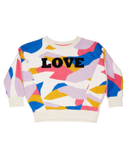 RAINBOW CAMO KIDS GIRLS EVES SISTER JUMPERS + JACKETS - 8054009PRNT