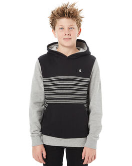 BLACK OUT KIDS BOYS VOLCOM JUMPERS + JACKETS - C4111803BKO