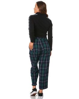 NAVY BOTTLE WOMENS CLOTHING STUSSY PANTS - ST191617BOT