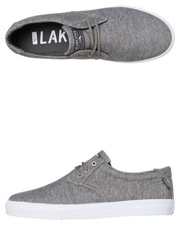 CHARCOAL MENS FOOTWEAR LAKAI SKATE SHOES - MS1190023A00CHAR