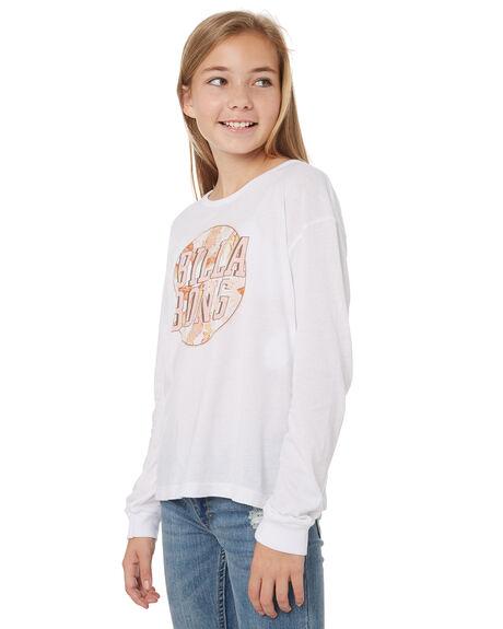 WHITE KIDS GIRLS BILLABONG TOPS - 5595072WHT