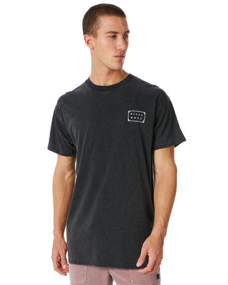 BLACK MENS CLOTHING BILLABONG TEES - 9581036BLK