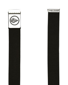 BLACK MENS ACCESSORIES VOLCOM BELTS - D5911594BLK