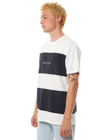 WHITE MENS CLOTHING HUFFER TEES - MTE81S229WHT
