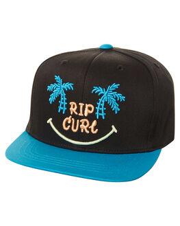 BLACK KIDS BOYS RIP CURL HEADWEAR - OCAZN30090