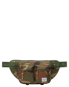 WOODLAND CAMO MENS ACCESSORIES HERSCHEL SUPPLY CO BAGS + BACKPACKS - 10018-02232-OSWDC