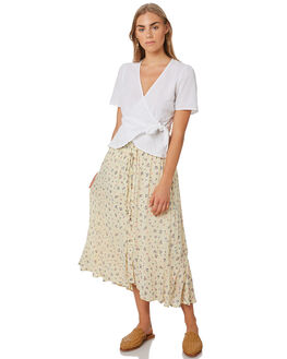 MEADOW PRINT WOMENS CLOTHING ALL ABOUT EVE SKIRTS - 6443072MDWP