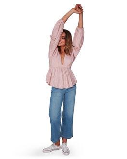 CREAM WOMENS CLOTHING BILLABONG FASHION TOPS - BB-6508092-CRM