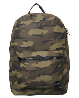 DUSTY OLIVE CAMO MENS ACCESSORIES GLOBE BAGS - GB71619017DOLCA