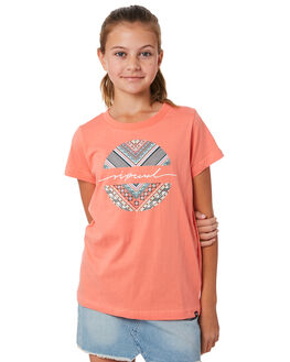 SHELL PINK KIDS GIRLS RIP CURL TOPS - JTEDJ18314