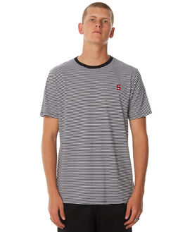 WHITE OUTLET MENS SWELL TEES - S5184015WHITE