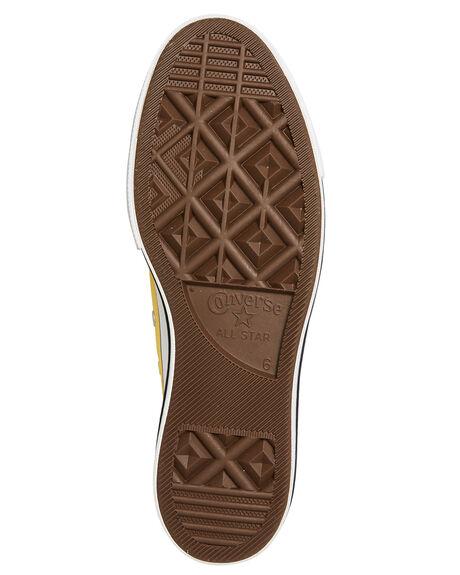 BUTTER YELLOW WOMENS FOOTWEAR CONVERSE SNEAKERS - 564385CBYLW
