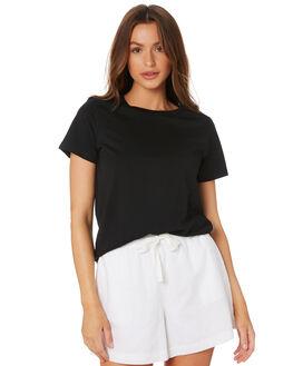 BLACK WOMENS CLOTHING AS COLOUR TEES - 4001BLACK
