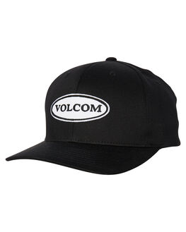 BLACK MENS ACCESSORIES VOLCOM HEADWEAR - D5531809BLK
