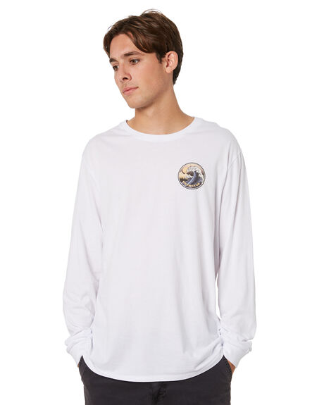 WHITE MENS CLOTHING DEPACTUS TEES - D5213103WHT