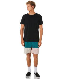 TEAL BLUSH MENS CLOTHING STUSSY BOARDSHORTS - ST092600TEBL