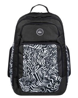 WHITE MENS ACCESSORIES QUIKSILVER BAGS + BACKPACKS - EQYBP03500-WBB0