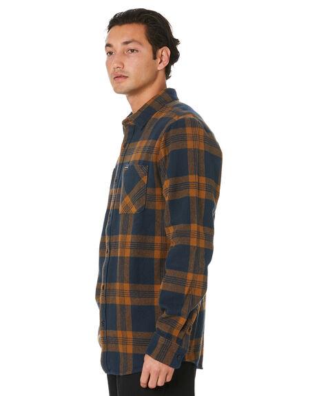 NAVY MENS CLOTHING VOLCOM SHIRTS - A0541904NVY