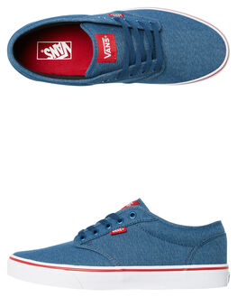 BLUE MENS FOOTWEAR VANS SNEAKERS - VNA45J9VEL
