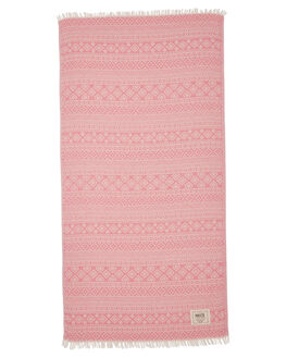 BLUSH WOMENS ACCESSORIES MAYDE TOWELS - 18CABABSH