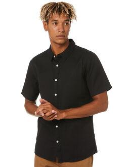 BLACK MENS CLOTHING SWELL SHIRTS - S5201171BLACK