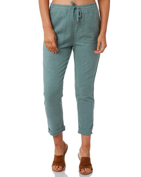 SEA FOAM WOMENS CLOTHING RUSTY PANTS - PAL0994SEF