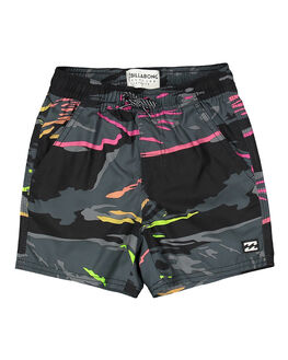BLACK CAMO KIDS BOYS BILLABONG BOARDSHORTS - BB-7592405-BP4