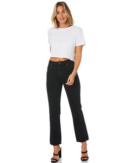ASH BLACK WOMENS CLOTHING ROLLAS JEANS - 13401-1382