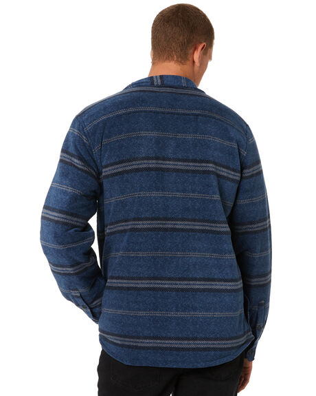 HEATHER NAVY MENS CLOTHING O'NEILL SHIRTS - HO8104214BLUX