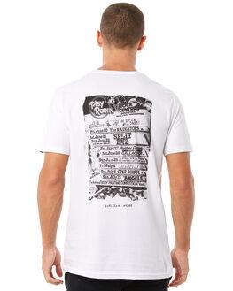 WHITE MENS CLOTHING MAYWOOD TEES - MTZ704WHITE
