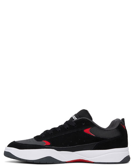 GREY/BLACK/RED MENS FOOTWEAR DC SHOES SNEAKERS - ADYS100509-XSKR
