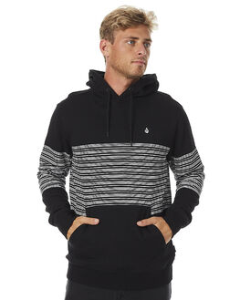 BLACK MENS CLOTHING VOLCOM JUMPERS - A4131703BLK